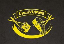 Логотип заведения СУШИ YUMMI