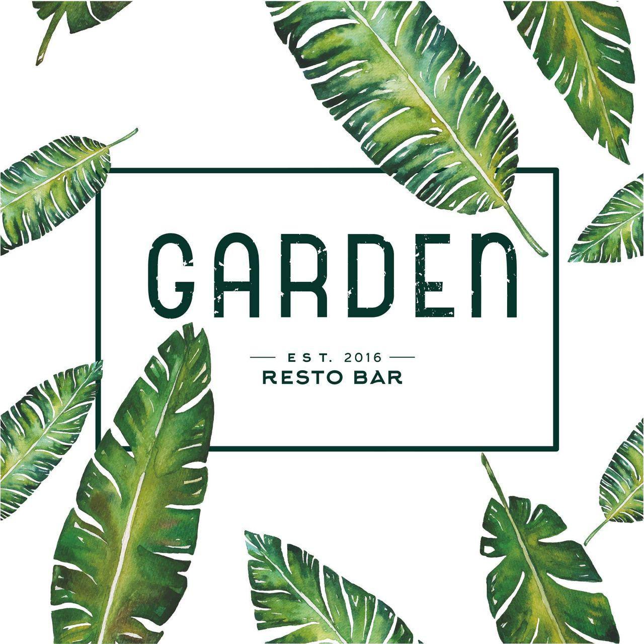 Логотип заведения Garden resto bar