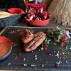 Люля - Кебаб з яловичини та свинини Puri Chveni
