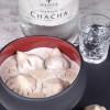 Крем - суп грибний з міні хінкалі з грибами Puri Chveni