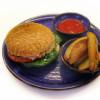 Бургер с котлетой из индейки Garden resto bar