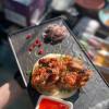 Перзола куриный с кисло-сладким соусом  Мясо и Угли