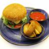 Бургер с котлетой из телятины Garden resto bar