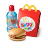 Хеппи Мил с гамбургером МакДональдс