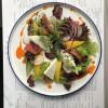 Легкий овощной салат с фетой Рыбное Место