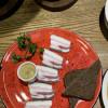 Сало с горчицей да бородинским хлебом Груша