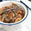 Картофель жаренный с грибами Рыбное Место