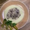 Бефстроганов с картофельным пюре Груша