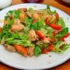 Салат с мидиями Fiesta
