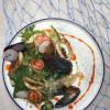 Салат с морепродуктами Рыбное Место