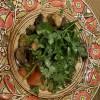 Горный салат-гриль с индейкой Груша