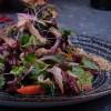 Салат з червоною фасолею та телятиною Puri Chveni