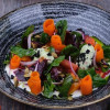 Салат з запеченого гарбуза Puri Chveni