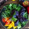 Асорті зелені та свіжих овочів Puri Chveni
