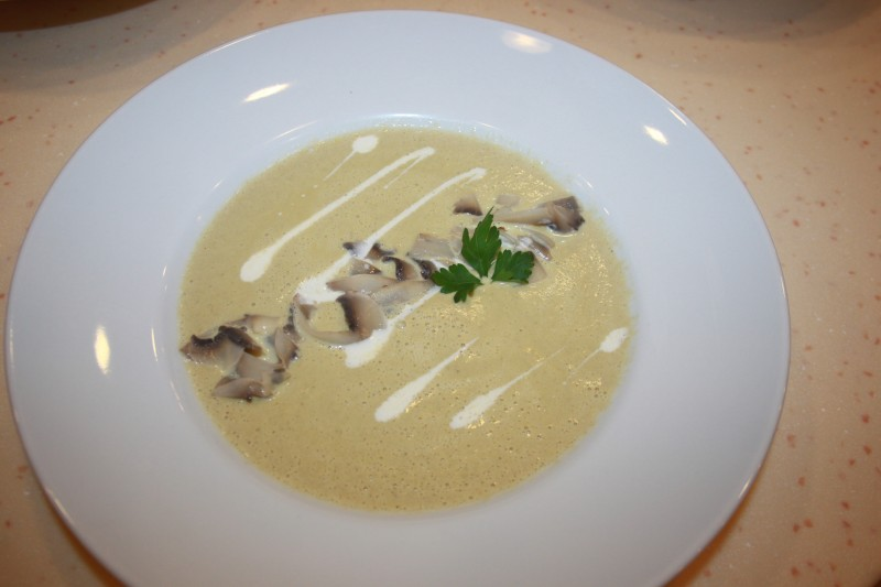 Крем-суп из шампиньонов Fiesta