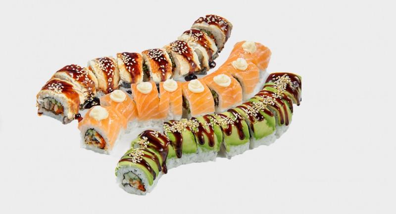 Сет три Дракона SushiGo
