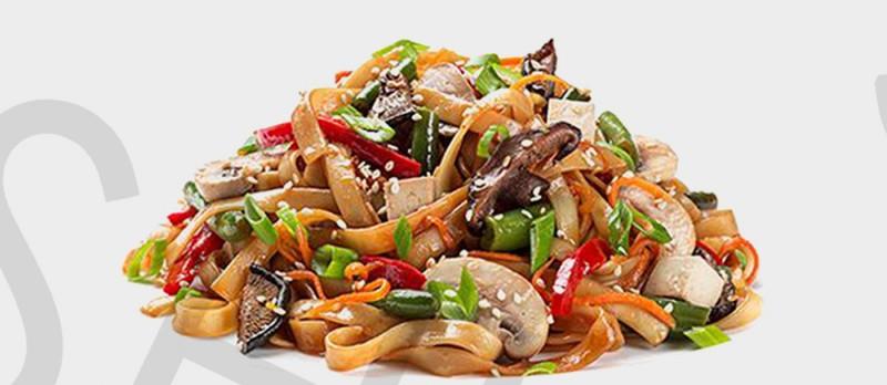 Лапша удон с овощами SushiGo