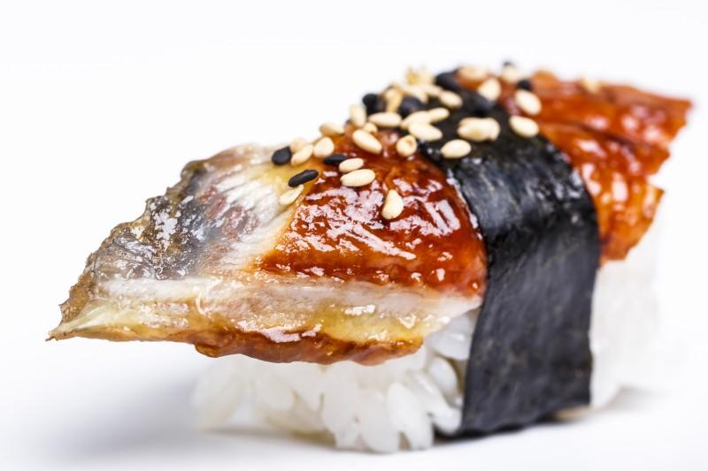 Нигири с угрем Sushi-Ushi