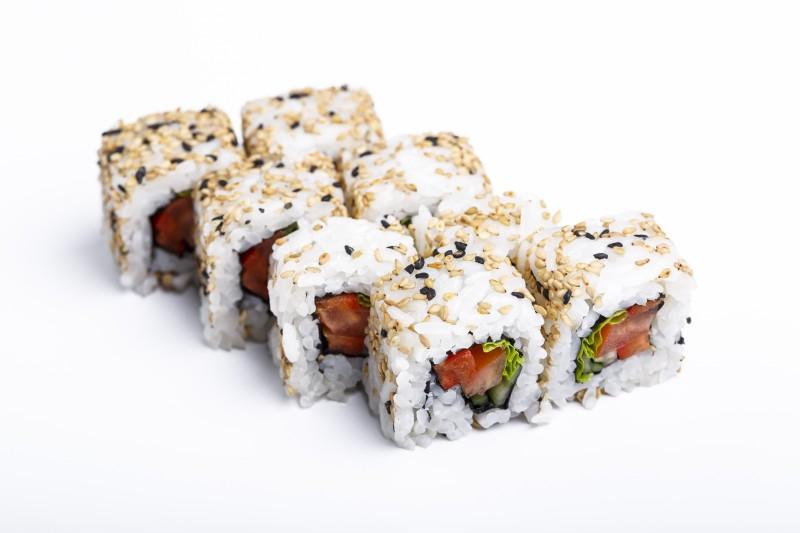 Ролл овощной в кунжуте Sushi-Ushi