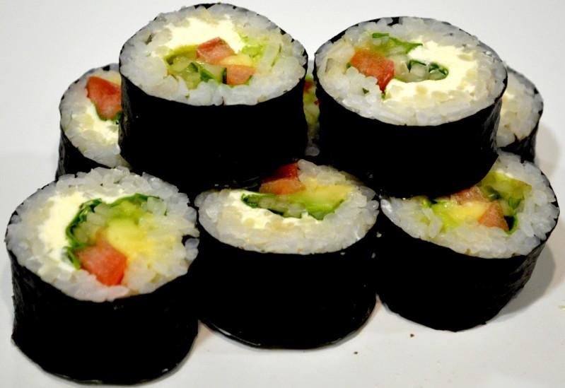 Ролл овощной с крем сыром  Sushi-Ushi