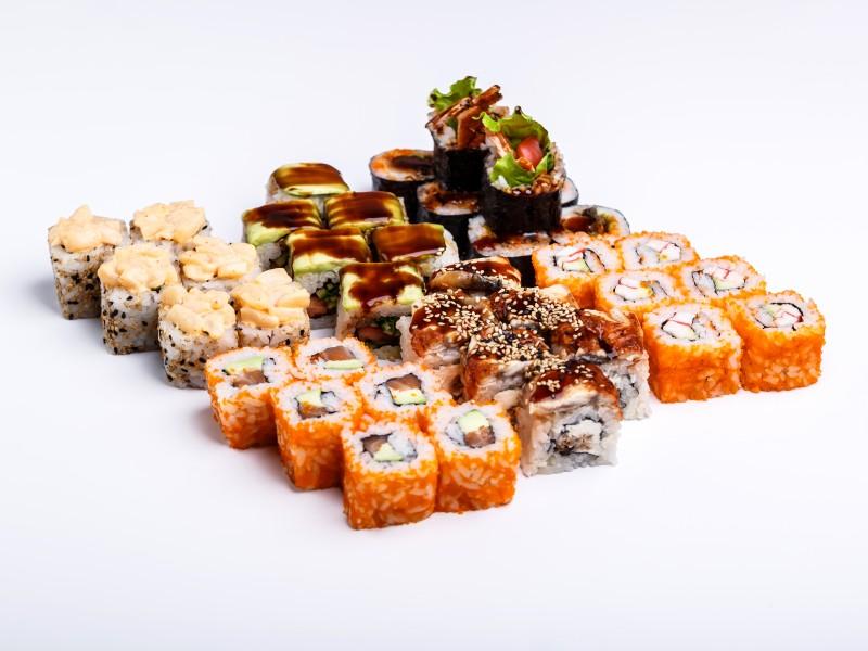 Сет Токио  Sushi-Ushi