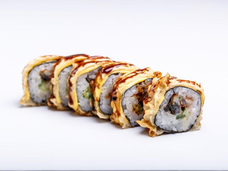 Теплый ролл с угрем Sushi-Ushi